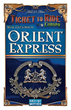 Ticket to Ride mini-uitbreiding Orient Express