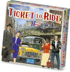 New York Ticket to Ride spel