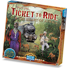 Ticket to Ride Map exp. 3