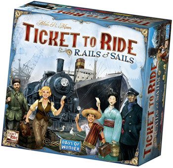 Rails & Sails Ticket to Ride